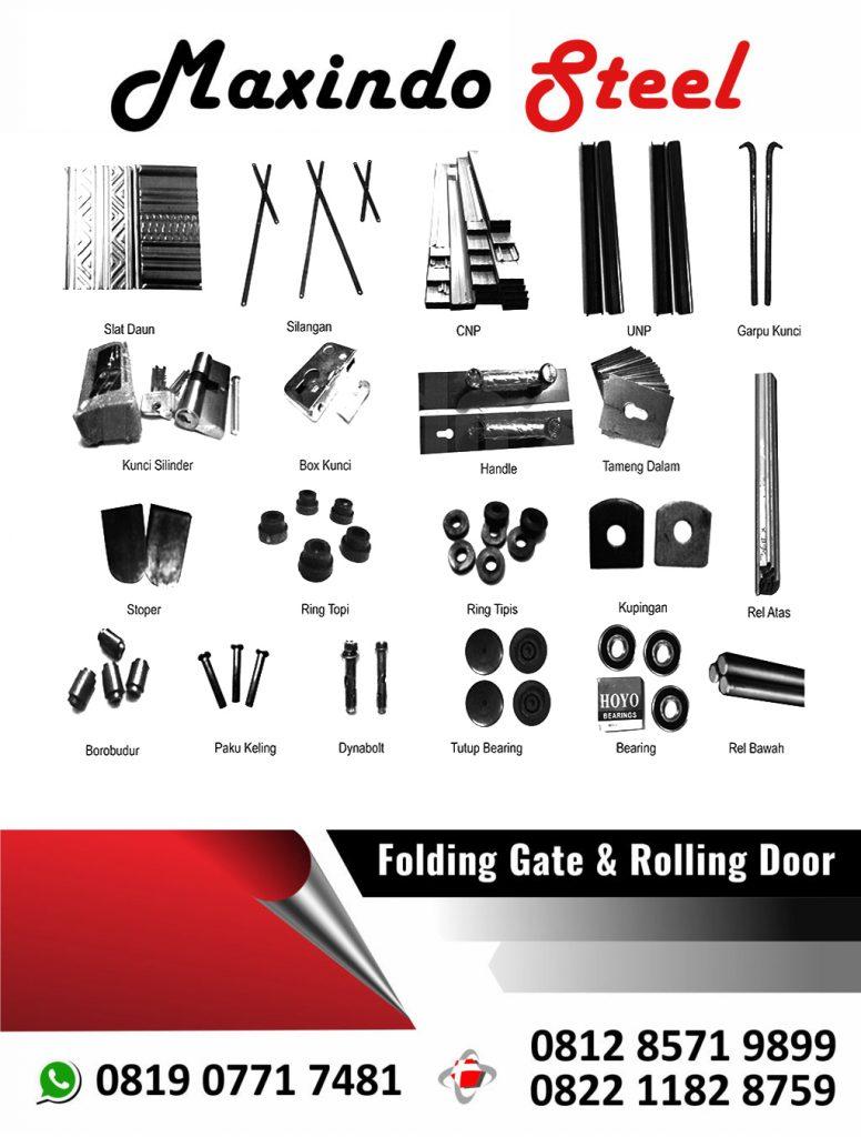 folding-gate-pasar-minggu-jakarta-selatan