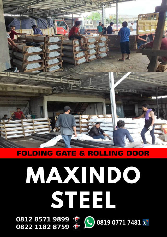 FOLDING-GATE-Manokwari Papua-ROLLING-DOOR-Manokwari- Papua